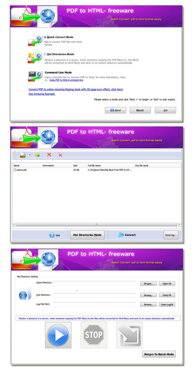 Windows 7 Flash Brochure Free PDF to HTML 2.0 full