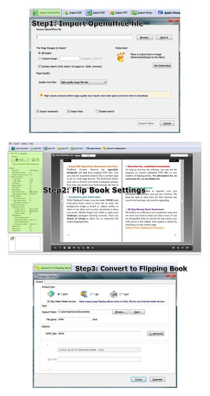 openoffice brochure template - free flip book software convert openoffice to page turn