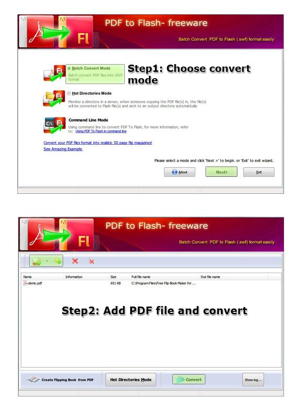 Pdf to flash brochure