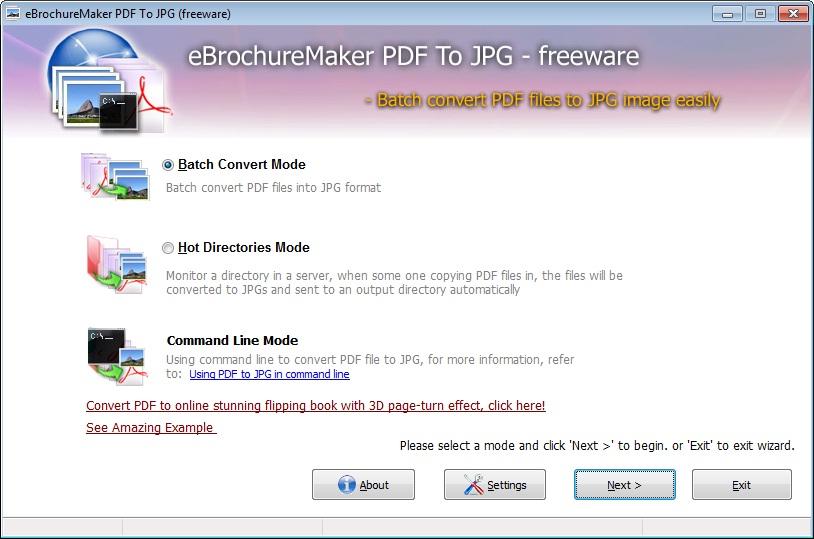 Windows 7 Freeware EbrochureMaker PDF to Flash 1.0 full