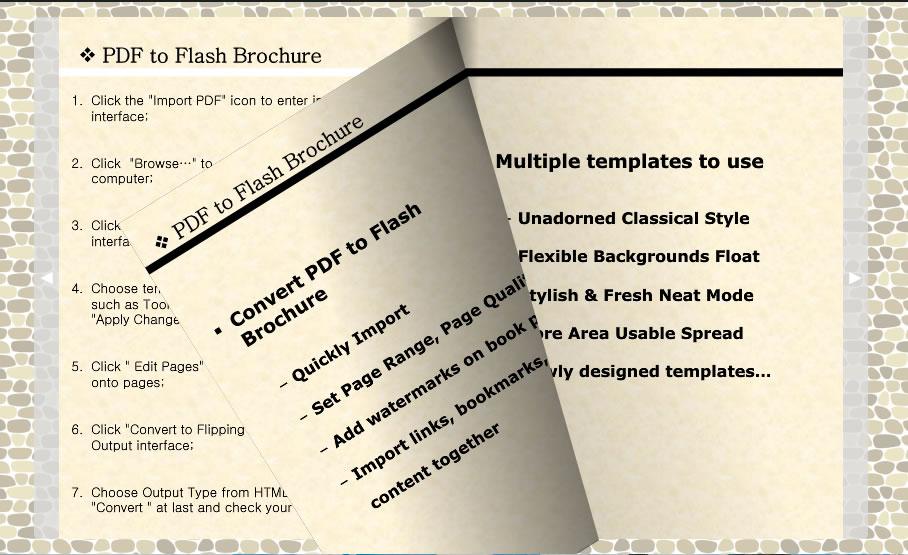 PDF to Flash Converter Mac