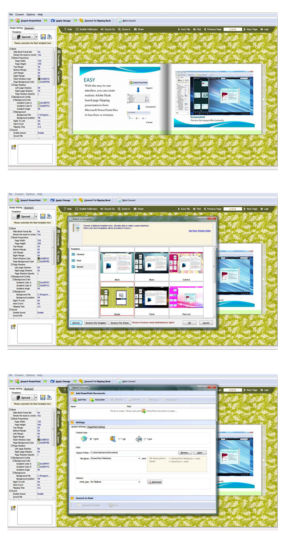 PPT to Flash Brochure full screenshot